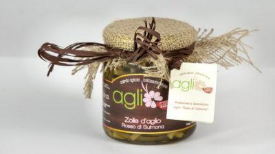 Zolle d'aglio sottolio